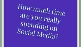 Spend less time on Social Media ~ Time management tip 24
