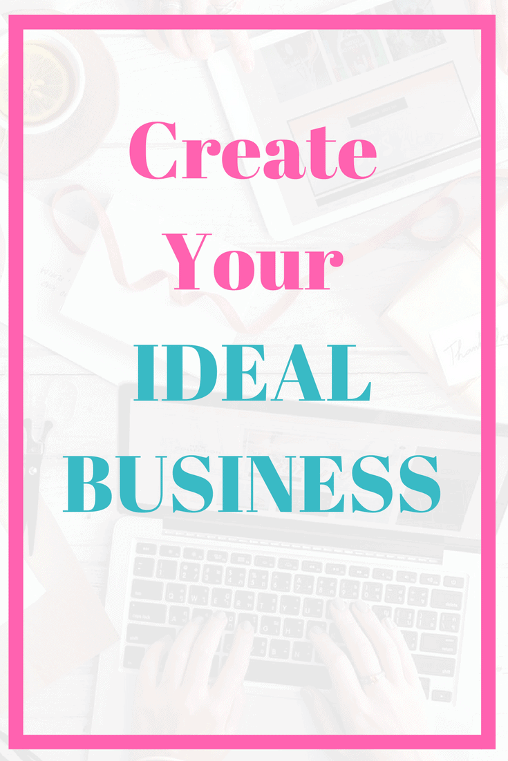 How to use the law of attraction to create your ideal business.
