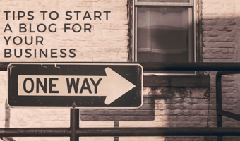 Do you want to start a business blog, but don't know how to get started?