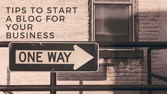 Business blog ~ Do you want to start a blog for your business but really don't know where to start? Click through for tips
