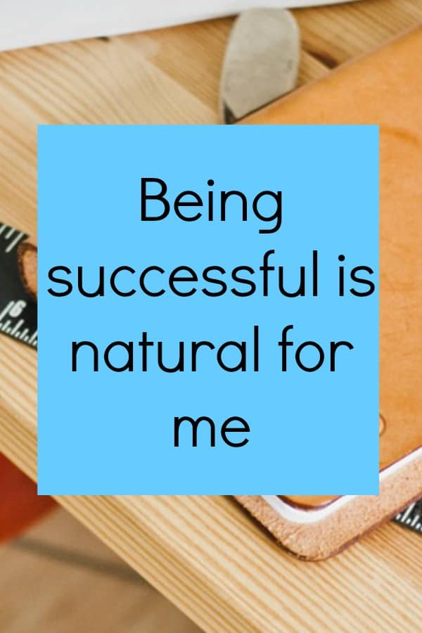 Being successful is natural. Check out my other empowering affirmations for business success