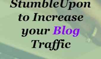 Using StumbleUpon to increase blog traffic