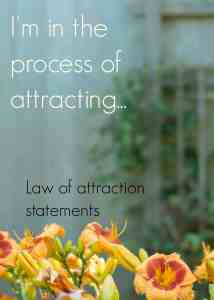 Click through for the 3 step law of attraction statement formula. A powerful alternative to affirmations specifically designed to get you attracting the things you want.
