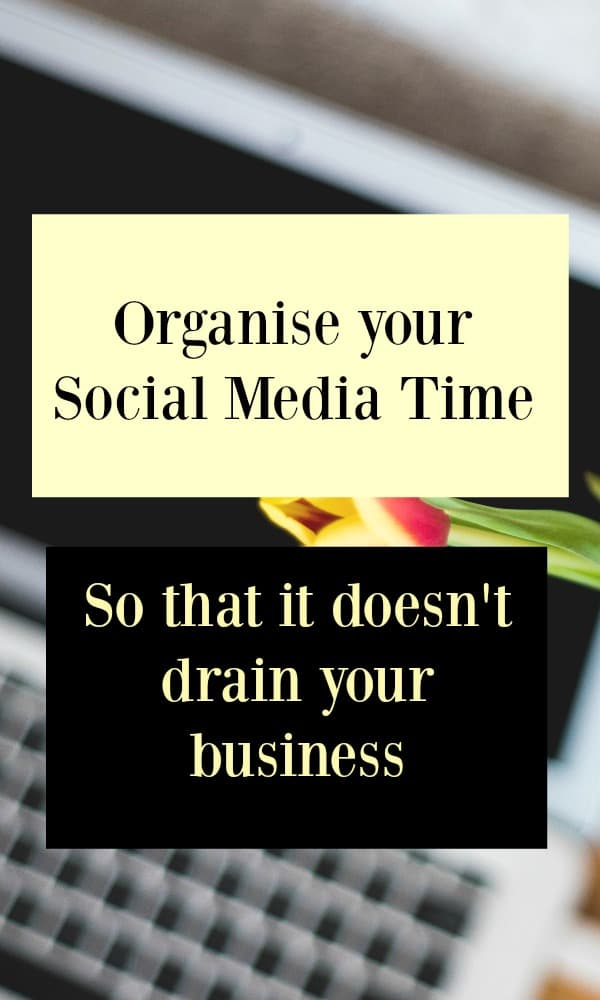 I hope you find these tips helpful to organise your social media time effectively.