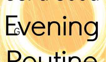 Get a good evening routine for better productivity