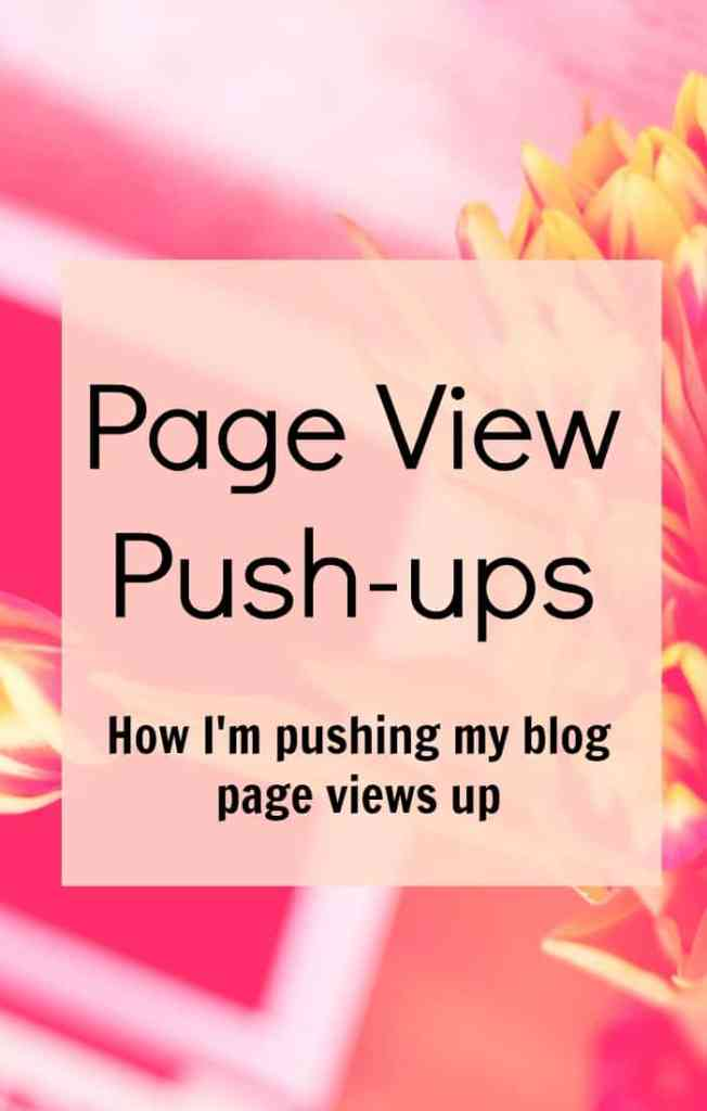 Celebrating pushing my blog page views up and what I've been doing to get there.