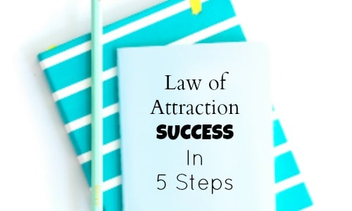 Get the law of attration working in your business - try these 5 steps for LOA business success