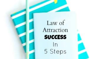 5 Steps to get the law of attraction working in your business