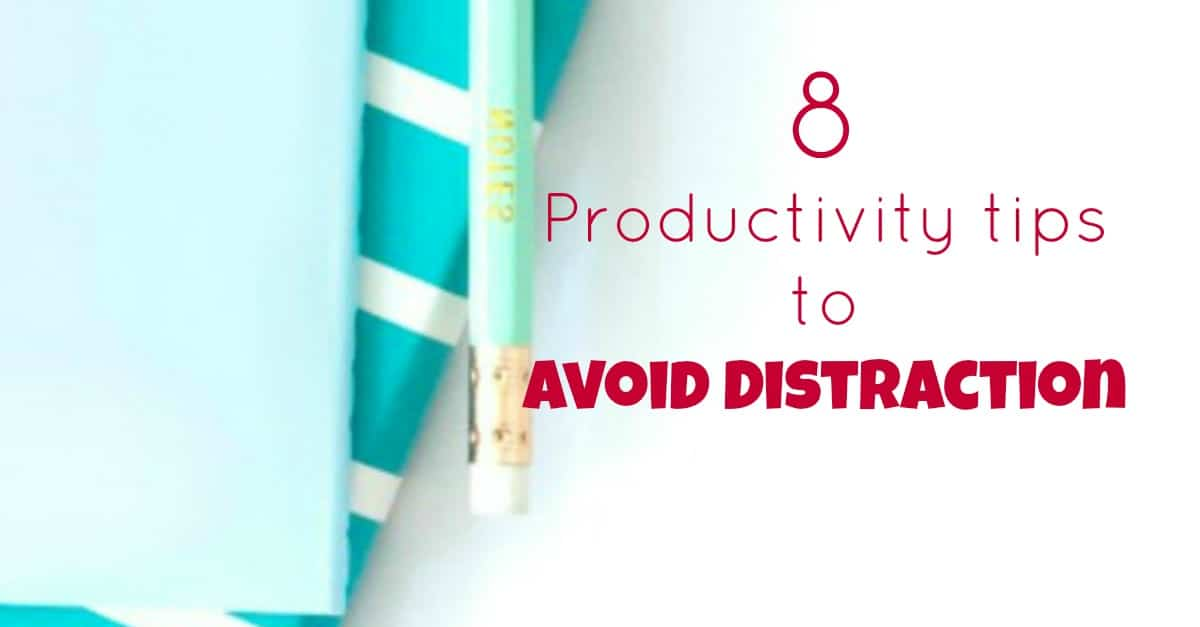 Productivity tips to avoid distraction. Let's face it, in business we really need to be productive every business day, these tips will help you to avoid distractions.