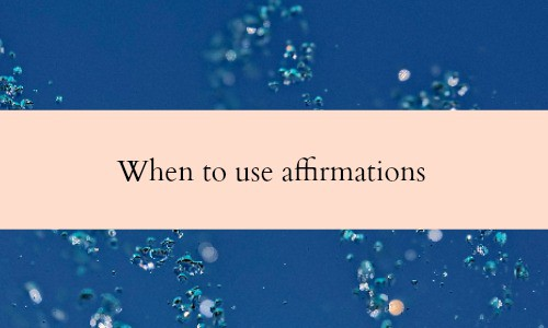 When to use affirmations. I am affirmations for business success.