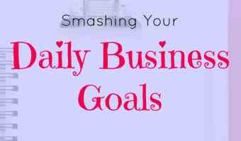 Daily business goals and your to-do list
