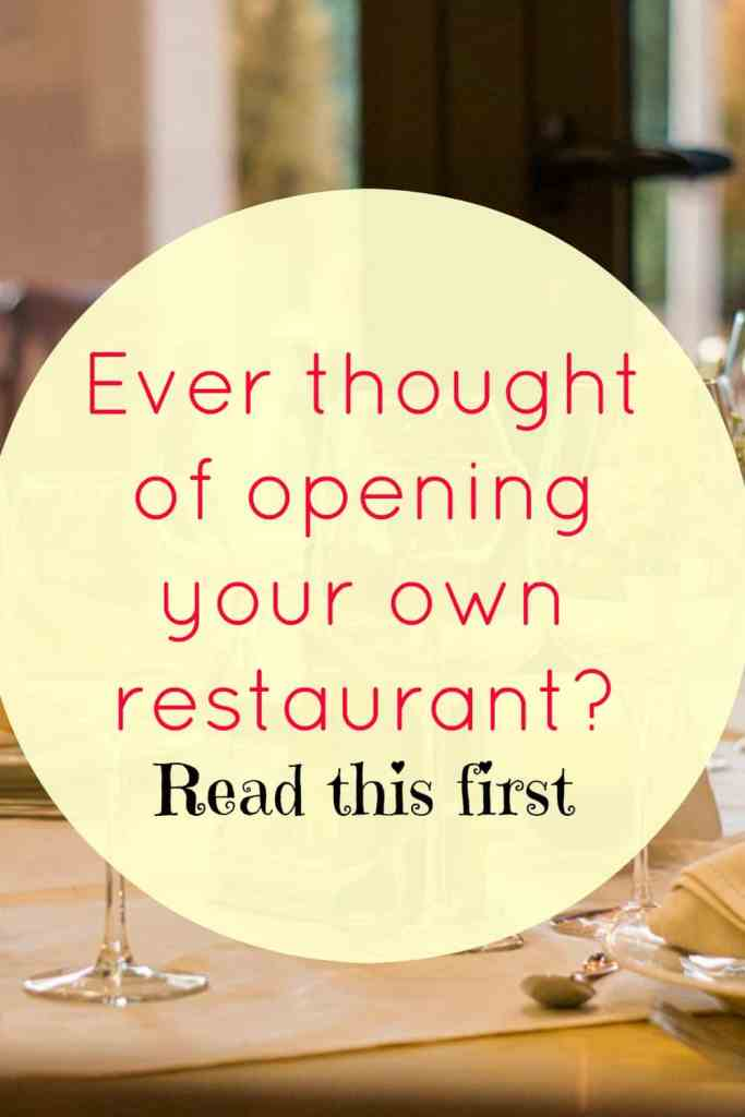 Are You Ready to Open a Restaurant? Have you ever dreamed of opening your own restaurant? Here are a new things to consider first.