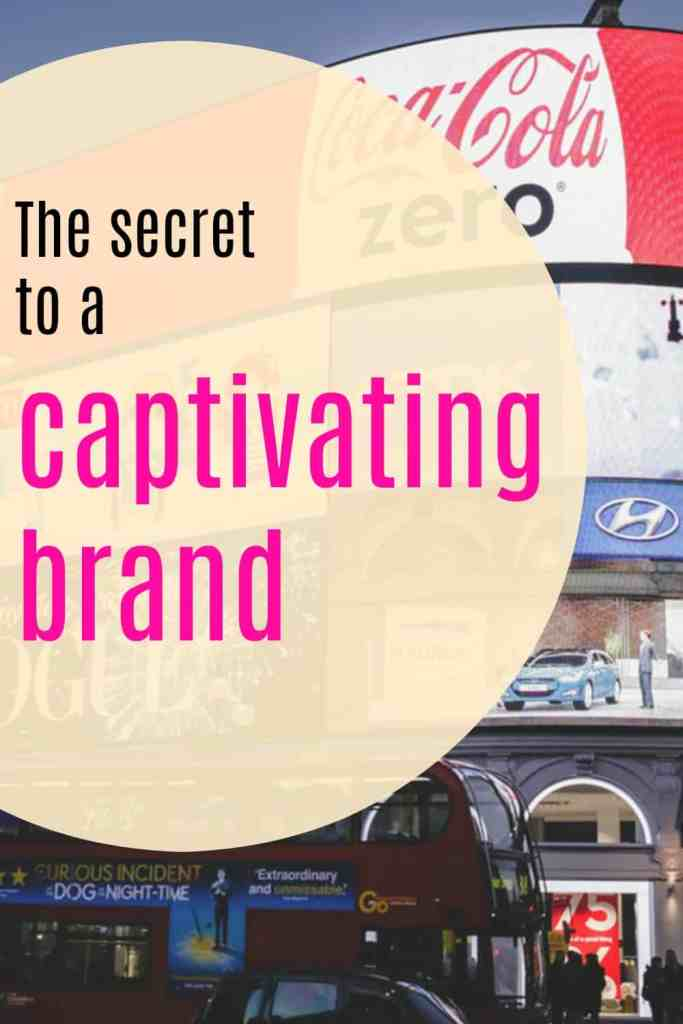 The secret to a captivating brand lies in honesty. That's the main point throughout this article but it goes deeper than that. Click through for more details.
