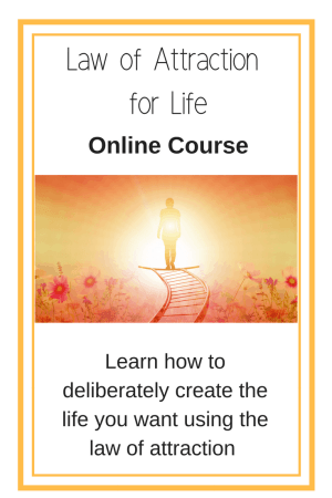 Law of attraction for life online course - Learn how to use the law of attraction to create a life you love.