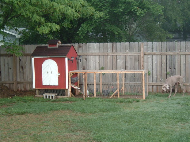 One Of The Most Popular Chicken Coop Plans In Instructables With Over 500  Favorites And 700,000 Views. Robb Said The Design Was Inspired By Some  Barns In ...