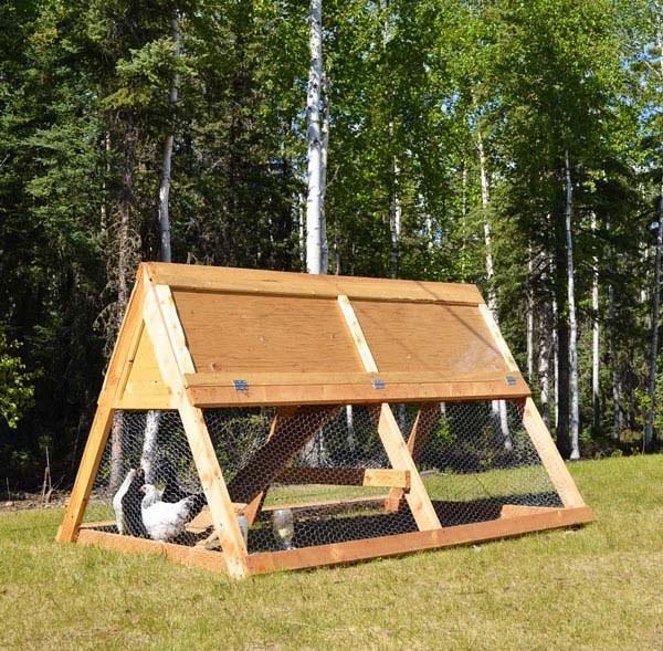 portable hen house plans