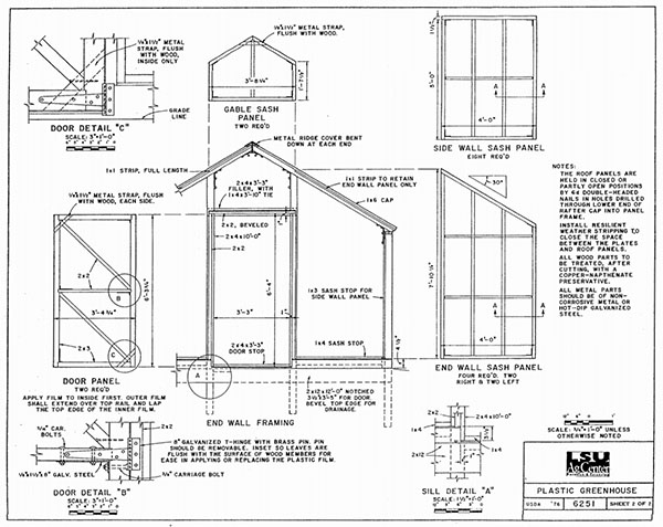 Greenhouse Plans by LSU AgCenter  sc 1 st  MorningChores & 84 DIY Greenhouse Plans You Can Build This Weekend (Free)