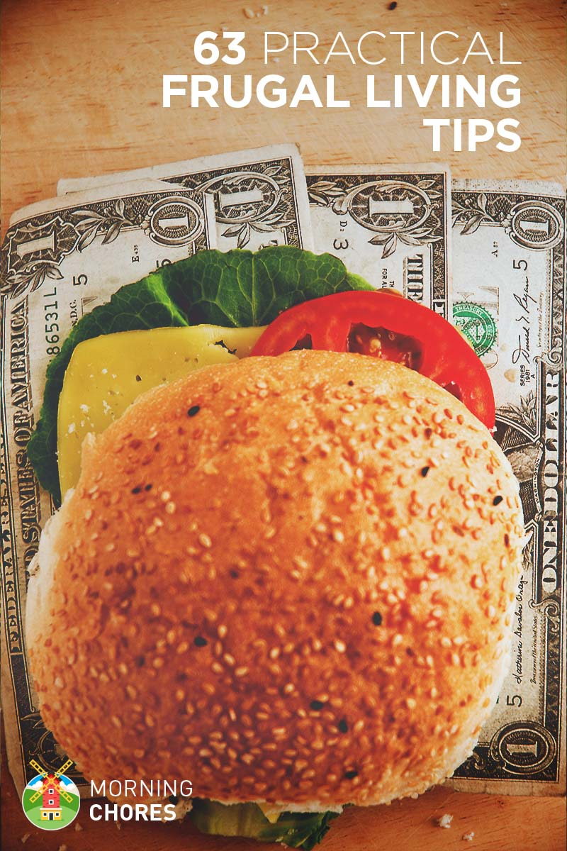 63 Practical Ways to Live a Frugal Life without Looking Like a Cheapskate