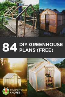 Diy Greenhouse Plans Build Weekend Free