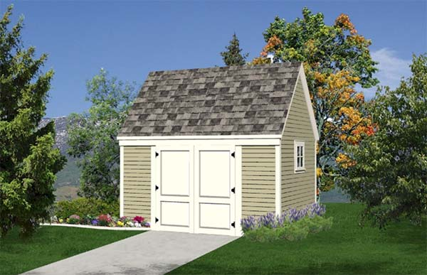All Purpose Storage Shed