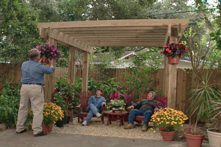 This Pergola Is Absolutely Gorgeous. It Can Be Placed Anywhere You Wish  Because Of Its Freestanding Design.