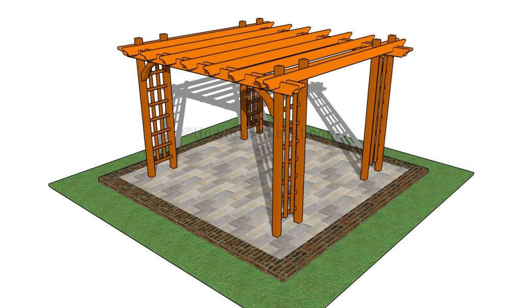 diy pergola plans ideas you can build