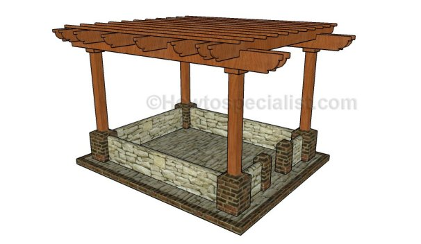 51 diy pergola plans & ideas you can build in your garden (free) - 10x10 Patio Ideas