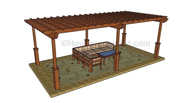These Plans Are Meant For Building A Large Pergola. This Is Going To Cover  More Than Your Average Size Deck.