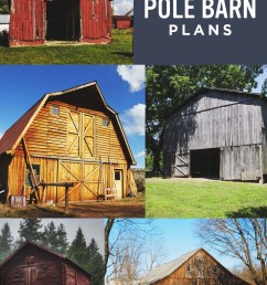 153 free diy pole barn plans and designs that you can actually build [ 800 x 1200 Pixel ]