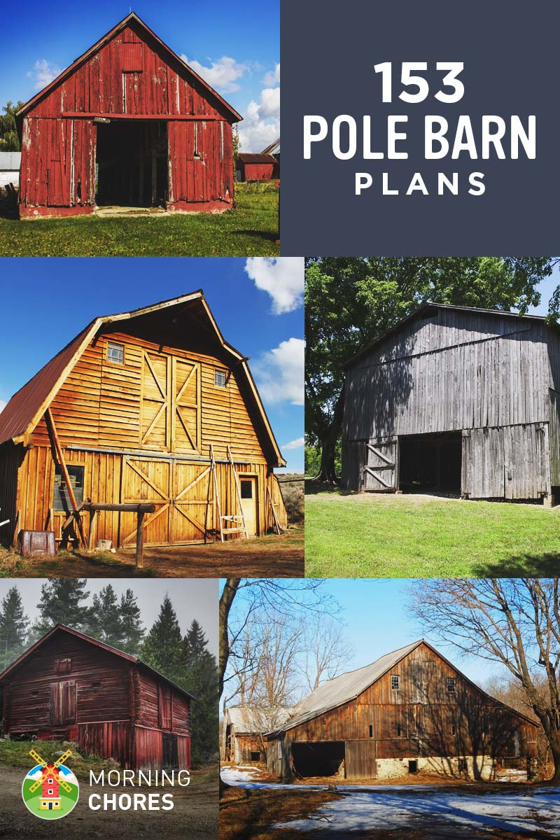 hight resolution of 153 free diy pole barn plans and designs that you can actually build