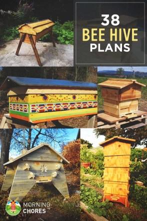 38 DIY Bee Hive Plans