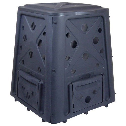 the sturdy build of this compost bin is desirable if you live in areas that are teaming with wildlife it is difficult to access and dump over