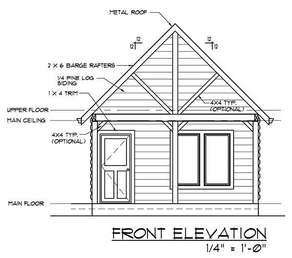 Diy log house plans