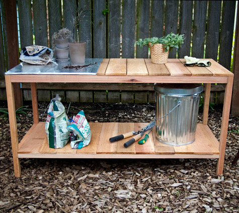 Superior This Planting Table Looks Very Simple To Build Yourself. It Has A Great  Stainless Steel Surface That Is Easy To Clean After Each Planting.