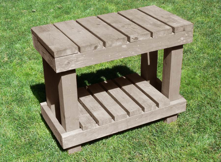 The Plans For This Potting Bench Are Said To Be Totally Free Too. How Many  Of Us Know That Free Makes Something That Much Better, Usually?