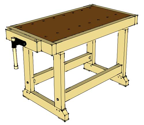 2x4-workbench-plans