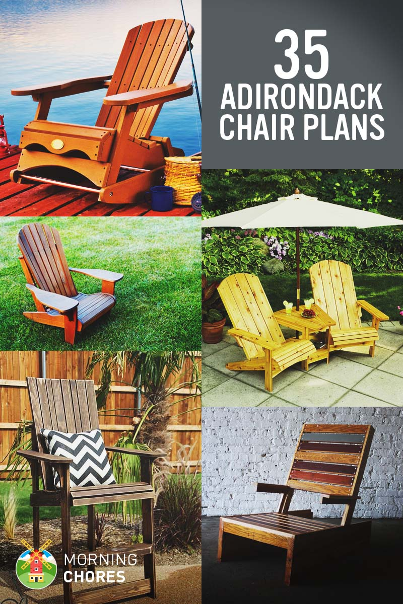 Free Diy Adirondack Chair Plans & Ideas Relaxing In