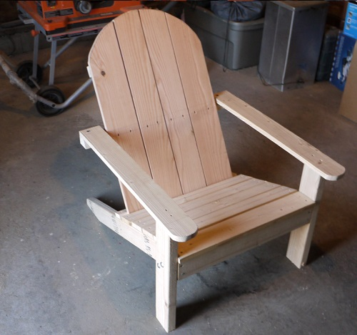 Cost To Build Adirondack Chair