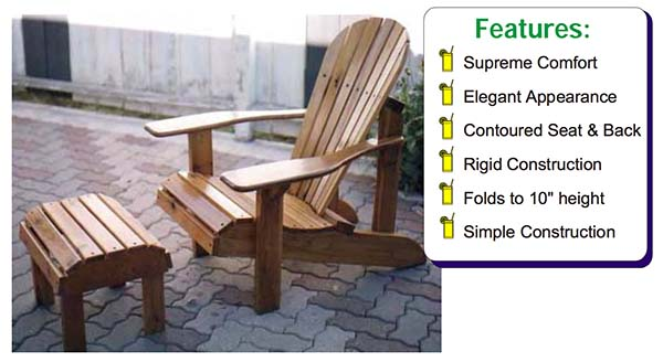Most Comfortable Adirondack Chair Design