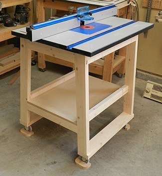 Folding Router Table Diy