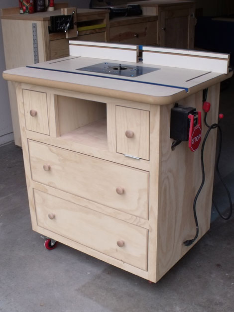 build drawers 39 free diy router table plans ideas that you can easily build