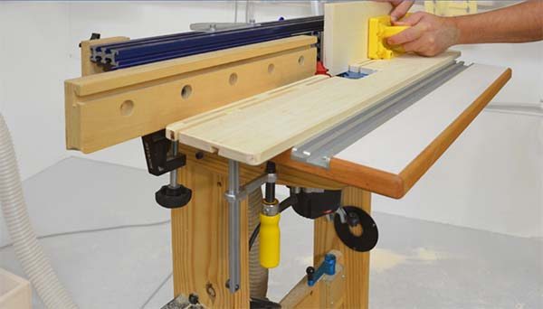 Router Table Table Saw Extension Plans