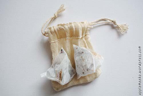 Tea bag air freshener