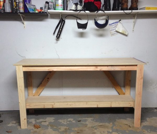 Do It Yourself Garage Workbench Plans: 49 Free DIY Workbench Plans & Ideas To Kickstart Your