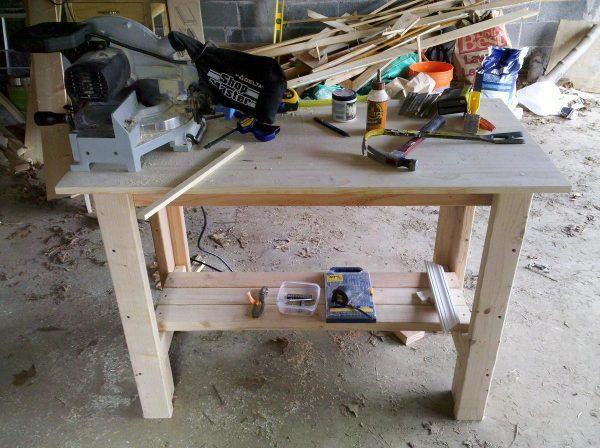 2×8 Workbench Plans