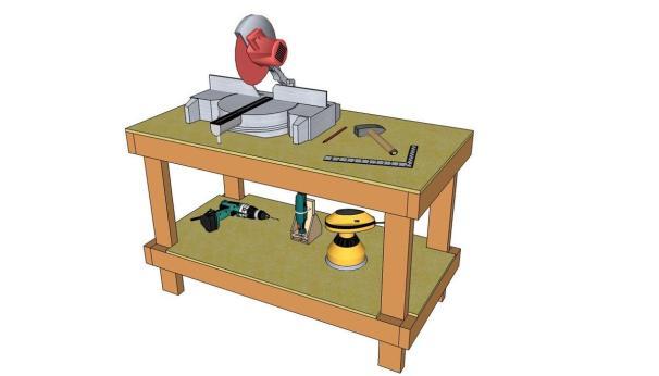 MOP Workbench Plans. 49 Free DIY Workbench Plans   Ideas to Kickstart Your Woodworking