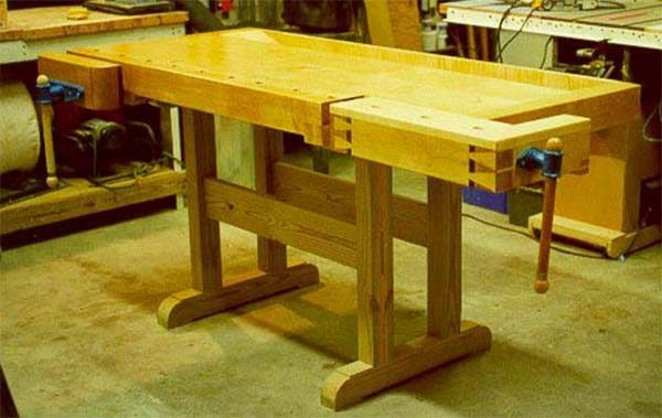 49 Free DIY Workbench Plans & Ideas to Kickstart Your Woodworking ...