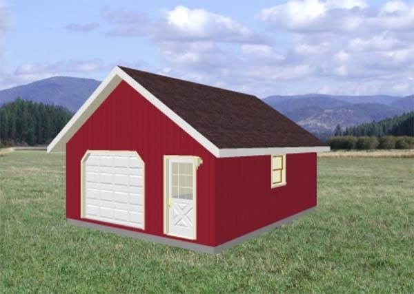 Miraculous 18 Free Diy Garage Plans With Detailed Drawings And Instructions Largest Home Design Picture Inspirations Pitcheantrous