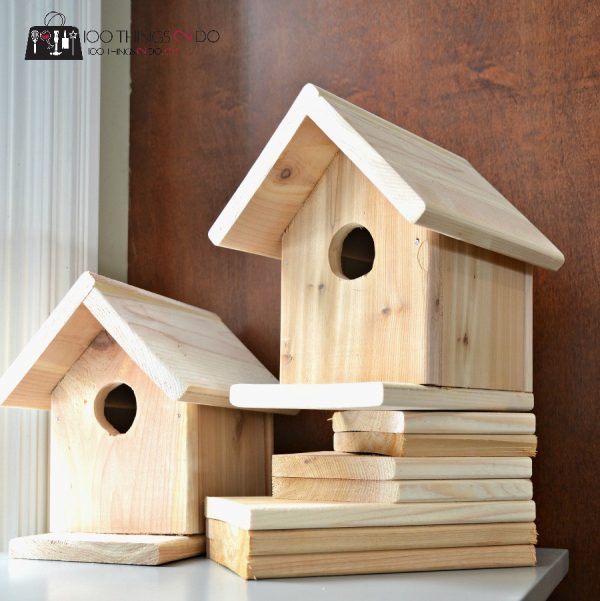 53 diy bird house plans that will attract them to your garden for How to make homemade bird houses