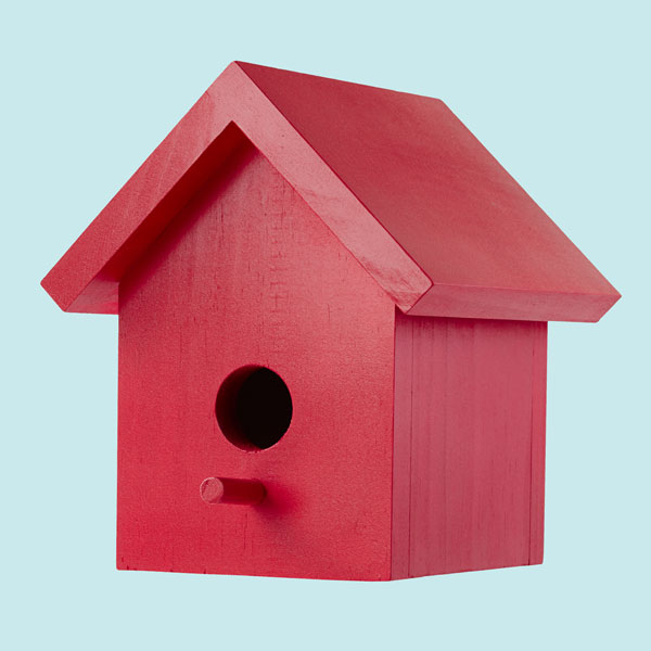 53 diy bird house plans that will attract them to your garden for Simple diy birdhouse plans